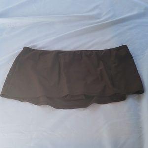 Brown Swim skirt